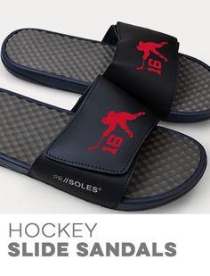 Hockey Slide Sandals