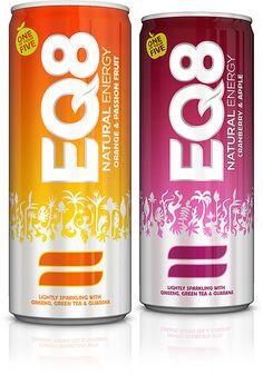EQ8 energy drinks