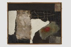 """Alberto Burri - """"Sacco"""", (Technique Mixte), 1952 Oil and collage on canvas 3 Abstract Painters, Abstract Art, Alberto Burri, Guernica, Artwork Images, Watercolor Artists, Abstract Photography, Collage Art, Collages"""