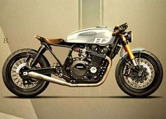 Yamaha XJR 1300 inspired by Hammer Holographic