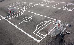 Florian Rivière : détournement de place de parking. Don't pay play - soccer (Strasbourg)