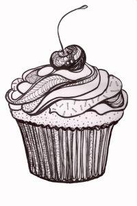zentangle cupcakes!