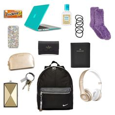 Plane carry on essentials by yasmeenf on Polyvore featuring polyvore, fashion, style, Charter Club, Kate Spade, FOSSIL, Speck, NIKE, Rebecca Minkoff, Beats by Dr. Dre, Wet Seal, MICHAEL Michael Kors, CB2, Simple Pleasures, women's clothing, women's fashion, women, female, woman, misses and juniors