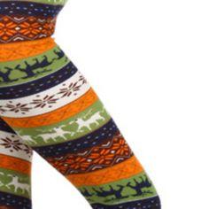 Leggings Fall Print Colors