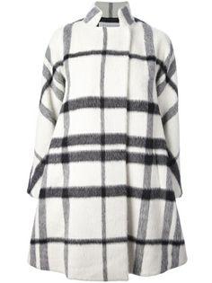GIANLUCA CAPANNOLO - checked oversize coat 6