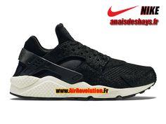 """Boutique Officiel Nike Air Huarache Run PA """"Stingray"""" Homme Noir/Verre de Mer/Noir 705008-001"""