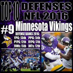 Mike Zimmer knows that even though 2015 marked a high point for this Vikings defense, they are still up and coming. Harrison Smith is praised by many and is one of the biggest play makers at the safety position. Anthony Barr is finally starting to get the recognition he deserves and you don't have to look far as future hall of famer and teammate Adrian Peterson said that he may even be one of the best linebackers to ever play. http://www.prosportstop10.com/top-10-defenses-in-the-nfl-2016