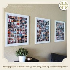 Now frame all your memories on the wall without running out of space.