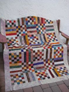 Simple, but effective use of batiks