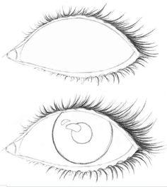 рисовать лицо девушки карандашом поэтапно боком