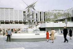 The original design of the Los Angeles Museum of Art - 1966
