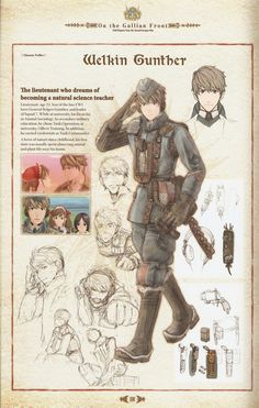 Welkin Gunther - Valkyria Chronicles I would love to get this together to cos-play.