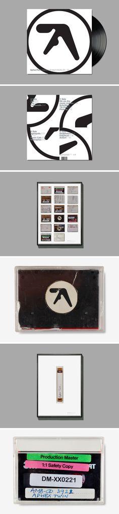 Format – LP re-work Posters  Client – Apollo/R&S Records  Info – Original Design  Unknown   Photogra...