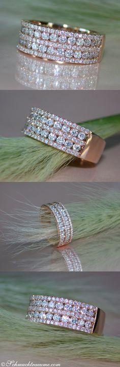 Timeless Diamond Band | Zeitloser Brillanten Band Ring | 1,19 ct. G-VS, RG18K - Visit: schmucktraeume.com Like: https://www.facebook.com/Noble-Juwelen-150871984924926/