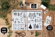 Hand Drawn design elements 100+ by lokko studio on Creative Market