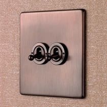 Light switch / push-button / toggle / quadruple