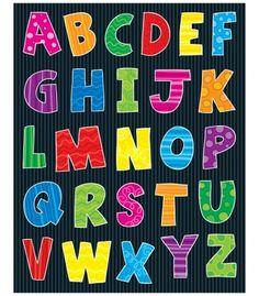 Alphabet Shape Stickers - Carson Dellosa Publishing Education Supplies #CDWishList