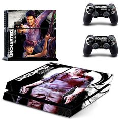 Uncharted 4 a thiefs end ps4 skin for console and controllers