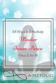 """101 Ways to Master Inner Peace"" is the story of failure, rejection and broken heart. It is also the story of picking oneself up, not giving up, holding to single piece of hope, getting back on track with extra energy and seeking positivity in the darkest hours.To learn to master inner peace we first need to have a complete control of our emotions and conscience.I'm sharing all my secrets to master the art of inner peace,the advises & quotes that have helped me be in charge of life."