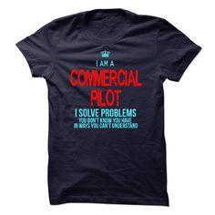 ((Top Tshirt Popular) I am a Commercial Pilot [Tshirt design] Hoodies