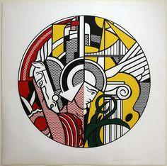 Roy Lichtentstein, The Solomon R. Guggenheim Museum Poster, 1969