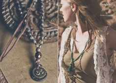 MYSTIC JOURNEY glass necklace Long antique brown necklace with OM charm    Glass knotted necklace featuring OM charm.  Beautiful beading and embellishments.  Glass in antique brown, melange brown and greenish transparent. Two metal round beads. Genuine leather embellishments.  Wear alone or as an additional layer with your favourite mala necklace.  *** OM is a mantra and mystical sound of Hindu origin (geographically India and Nepal), sacred and important in various Dharmic religions such as…