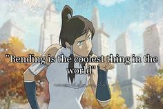 IT IS! I wish i was a bender! More than anything! Airbending would be my choice <3