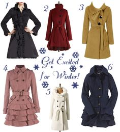 For Chic Sake's Favorite Winter Coats