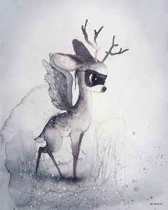 Mrs Mighetto 'The End of the Forest' Dear Fawn Print 40 x 50 – norsu interiors Illustrations, Illustration Art, Illustration Mignonne, Image Deco, Limited Edition Prints, Watercolor Print, Cute Drawings, Light In The Dark, Art For Kids