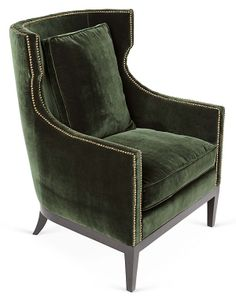One Kings Lane - Add Some Spice - Roswell Chair, Forest
