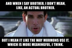 mormons are meaningful yo