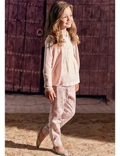 Trousers in pure cotton - Pink
