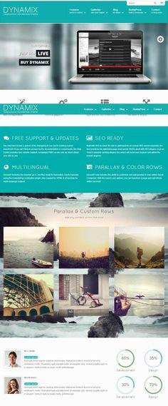 DynamiX WordPress BuddyPress Theme