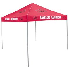 Arkansas Razorbacks NCAA Colored 9'x9' Tailgate Tent