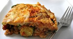 Skinny Lasagna, Fabulous and Noodle Free – Weight Recipes