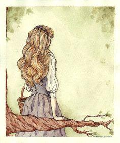 """Each little bird has a someone by WalkingOnTheStars.deviantart.com on @deviantART - Aurora from """"Sleeping Beauty"""""""