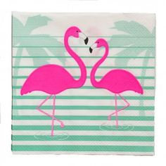Flamingo Paper Napkins