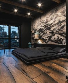 Luxury Bedroom Design, Bedroom Furniture Design, Home Room Design, Dream Home Design, Master Bedroom Design, Home Decor Bedroom, Black Bedroom Design, Modern Luxury Bedroom, Bedroom Black