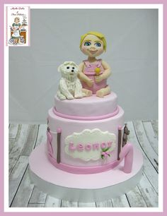 Tarta fondant cumpleaños,tarta cumpleaños