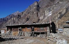 """""""belle maison traditionnel"""" by TravelPod blogger marco-2010 from the entry """"Trek Langtang deuxième partie"""" on Sunday, January  5, 2014 in Kyanjin Gompa, Nepal"""