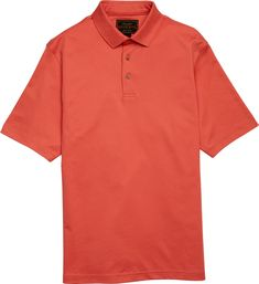 Reserve Collection Traditional Fit Solid Short Sleeve Polo