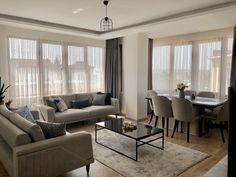 Room Design Bedroom, Home Room Design, Home Interior Design, Living Room Designs, Living Room Wood Floor, Home Living Room, Living Room Decor, White Room Decor, Luxury Dining Room