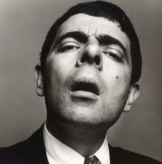 Mr. Bean the holes of your nose is fun too !  LOL