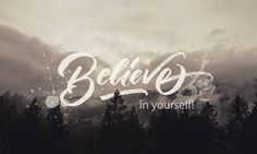 """@albi.letters on Instagram: """"If you dont believe in yourself, no one will do it for you! """""""