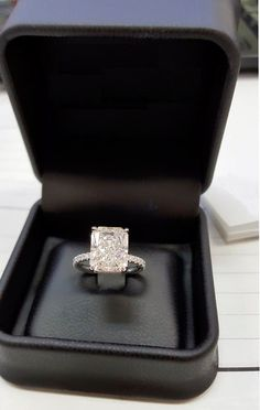 2.00Ct Emerald Cut D/VVS1 Lab Diamond Halo White Gold Over Engagement Ring #Beijojewels #SolitairewithAccents #Engagement