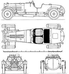 Lagonda 4.5 Litre Rapide (1935)   SMCars.Net - Car Blueprints Forum