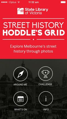 Hoddle's Grid - a photographic exploration of the history of the streets of Melbourne