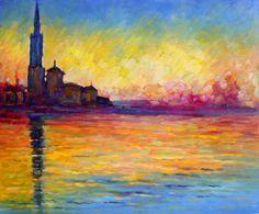 Claude Monet      I look at this painting, stand in front of  it long time !! by minimum effort of painting it is fantastic !! أتأمل في هذه اللوحة وأقف أمامها كثيراً ما هذه الروعة ، هذا هو السهل الممتنع !