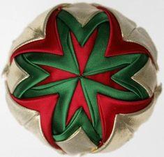 Folded Star Fabric Ornaments Gallery 2: