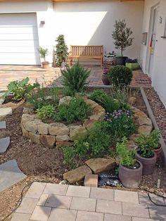 Garden Whimsy, Garden Cottage, Garden Beds, Modern Backyard, Backyard Patio, Backyard Landscaping, Garden Makeover, Backyard Makeover, Balcony Plants